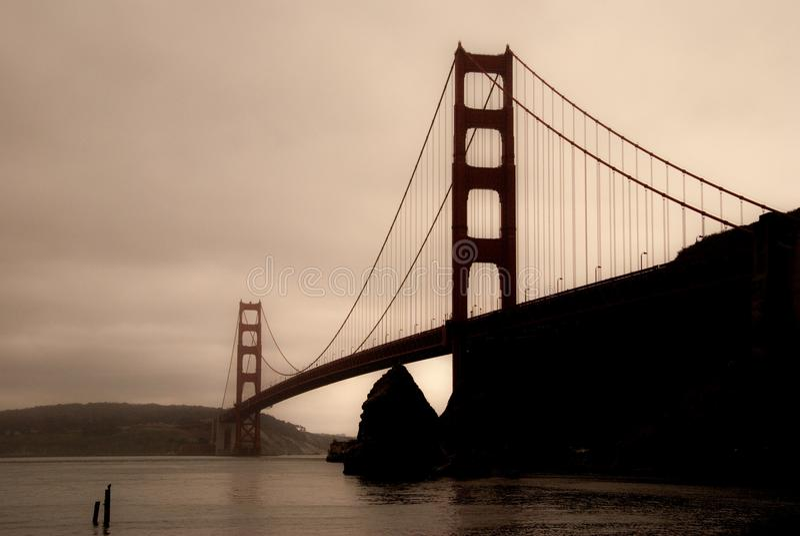 Golden Gate-Gedächtnisse stockbild
