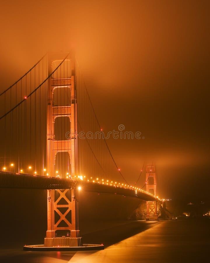Golden Gate Glow stock image
