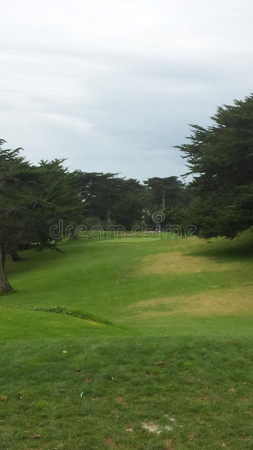 Golden Gate Golf Course royalty free stock photo