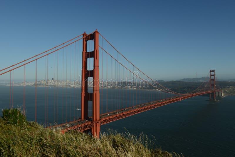 Golden Gate i swój historia obraz stock