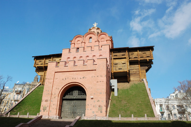 Download Golden Gate in Kiev stock image. Image of tall, antique - 4657799