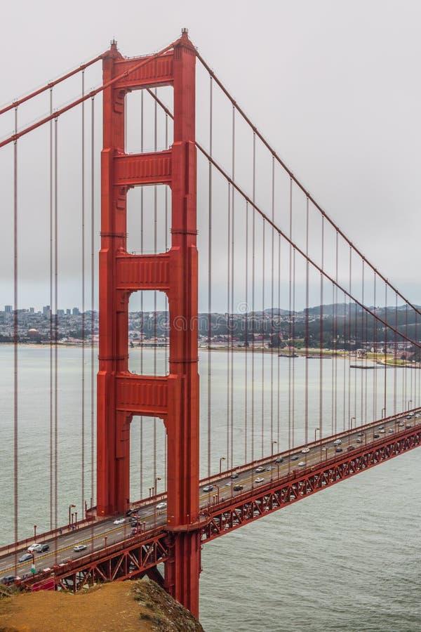 Golden Gate północy wierza II fotografia royalty free