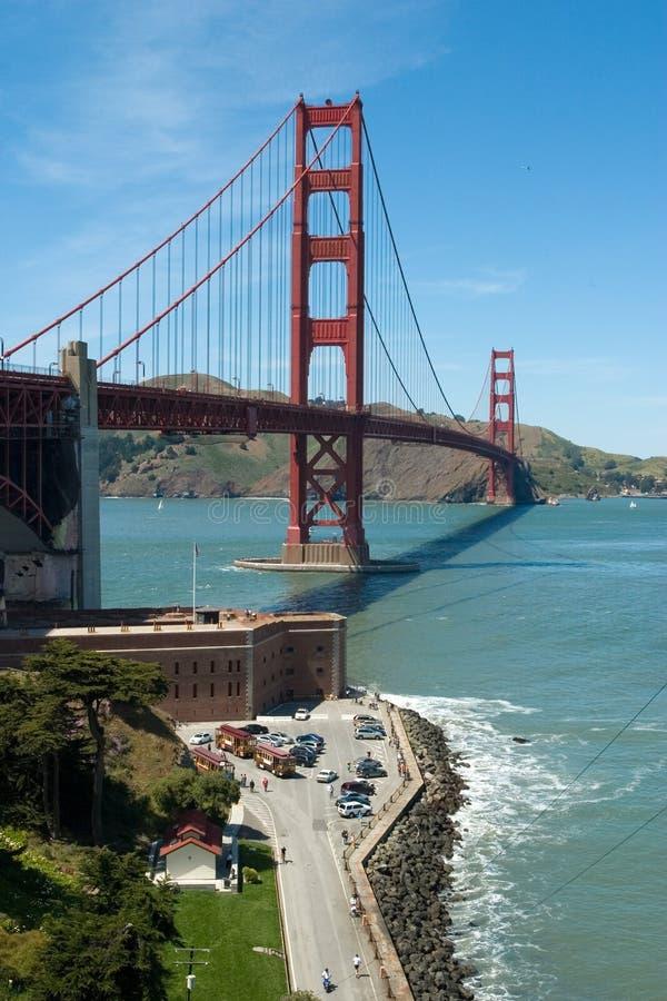 Golden Gate Portrait stock image