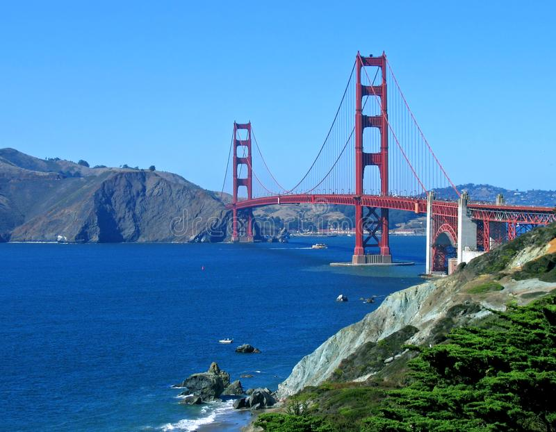 Golden Gate, San Francisco royalty free stock image