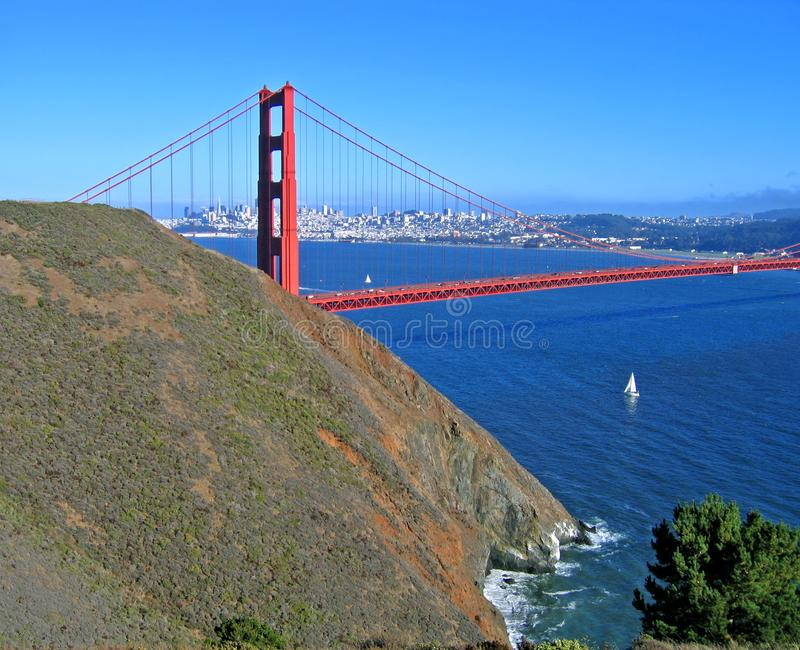 Golden Gate, San Francisco Stock Afbeelding