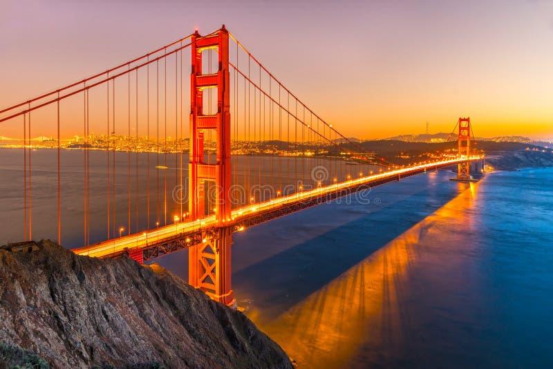 Golden Gate, San Francisco, Californië, de V.S. royalty-vrije stock fotografie