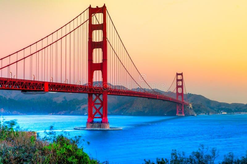 Golden Gate, San Francisco, Californië, de V.S. royalty-vrije stock foto's
