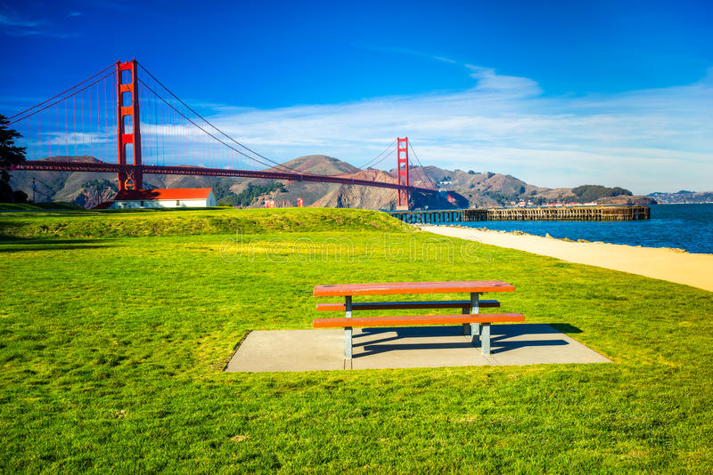 Golden Gate, San Francisco, Californië, de V.S. stock fotografie