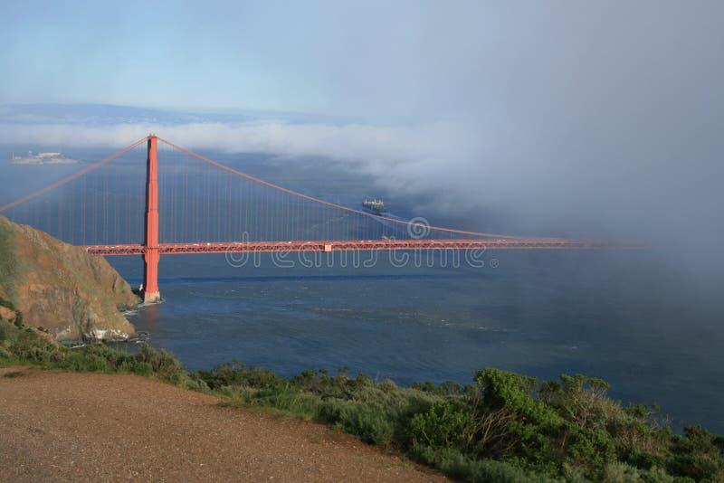 Golden Gate in San Francsco, CA stock afbeelding