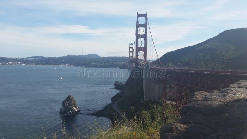 Golden Gate SFO image libre de droits