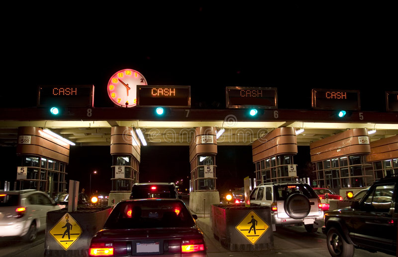 Download Golden Gate toll road stock photo. Image of bridge, francisco - 2469970