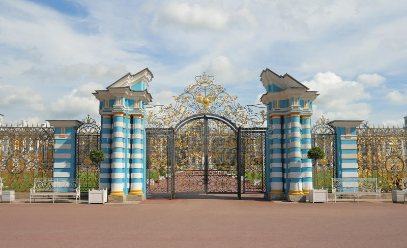 Download The Golden Gate, Tsarskoye Selo Royalty Free Stock Photos - Image: 15991498