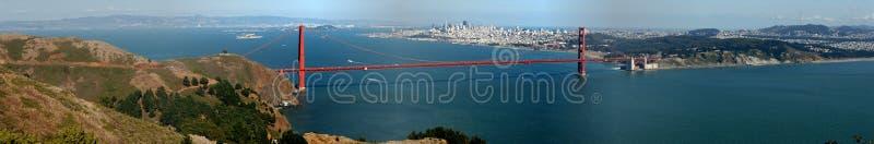 Golden Gate u. San Francisco stockfotos