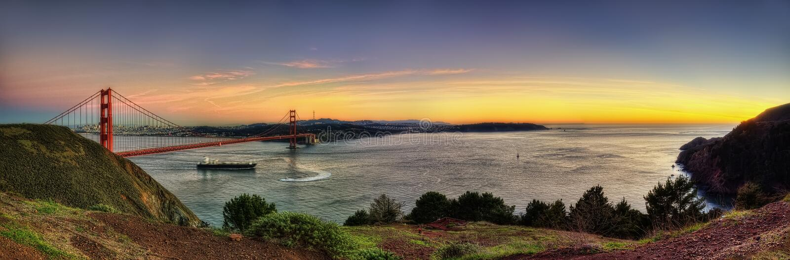 Golden Gate USA stock photography
