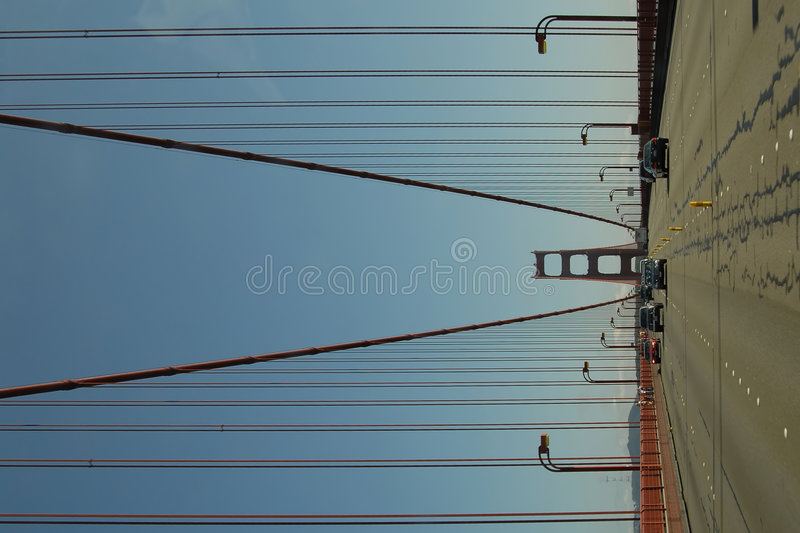 Golden Gatefahrt stockfoto