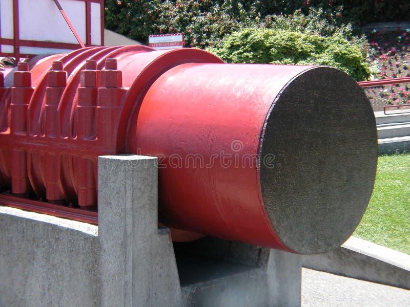 Download Golden Gateseilzugkapitel stockfoto. Bild von blau, brücke - 35816