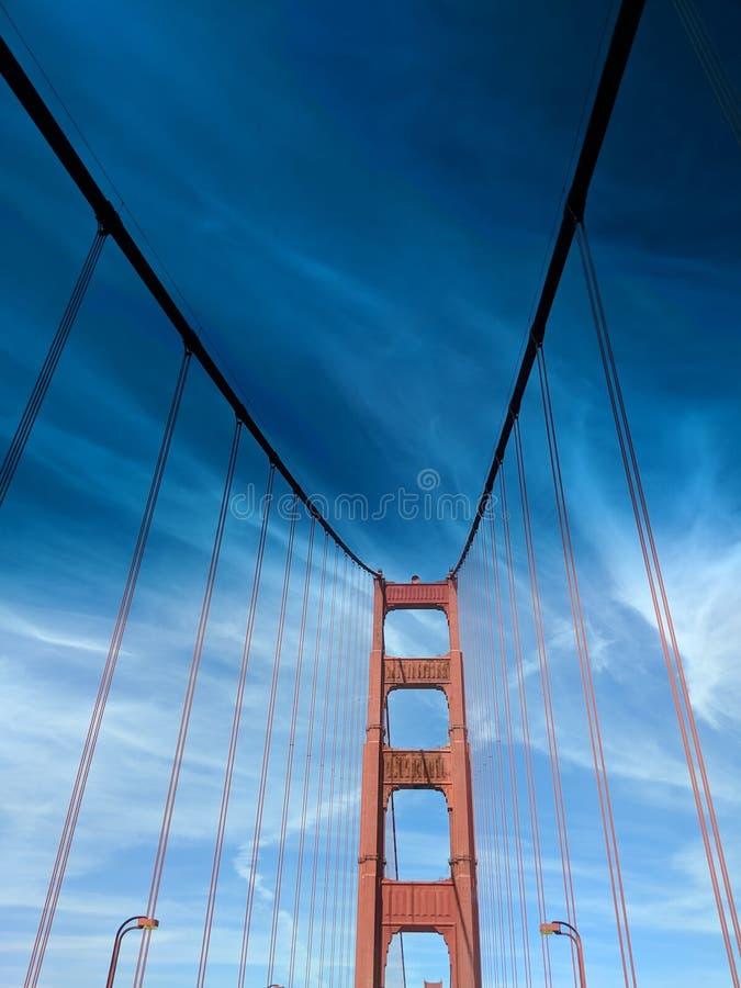 Golden- Gateträume lizenzfreies stockbild