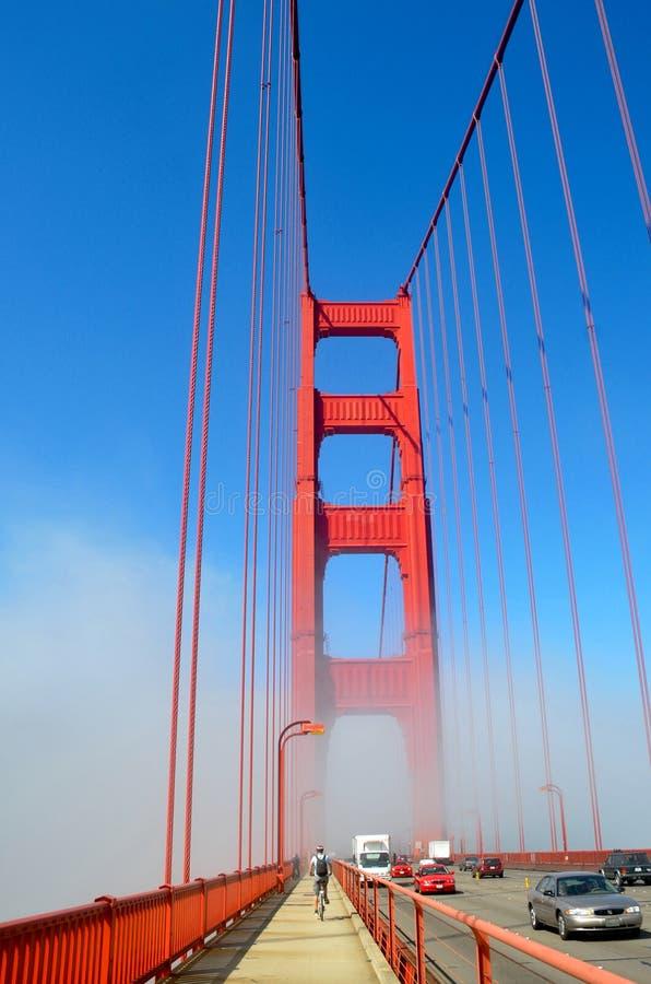 Golden- Gateverkehr stockfotos