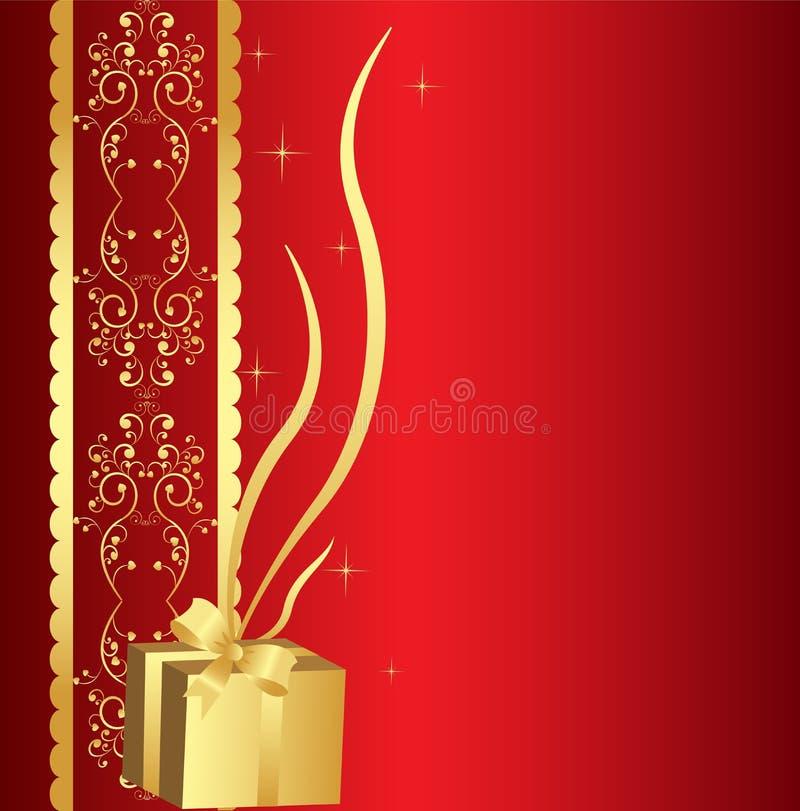 Free Golden Gift Background Stock Photo - 16699100