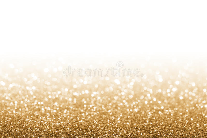 Golden glitter stock photos