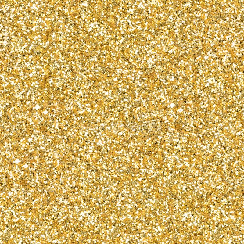 Free Golden Glitter, Sparkle Confetti Texture. Christmas Abstract Background. Ideal Seamless Pattern. Royalty Free Stock Photography - 164125357