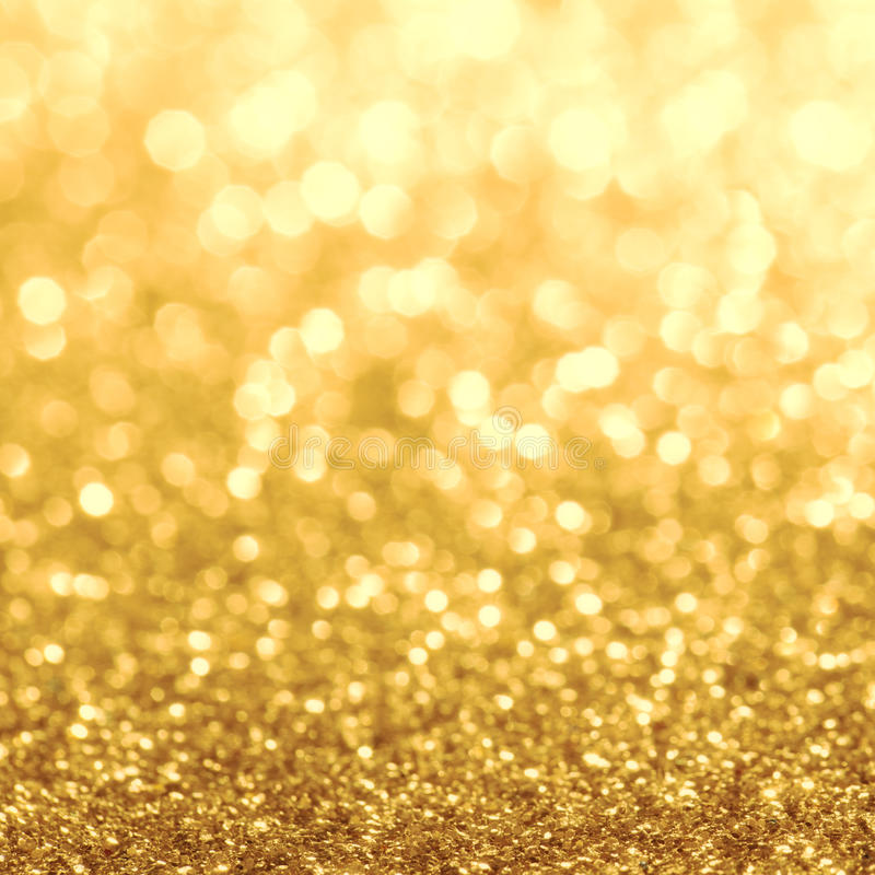 Golden Glitters stock images
