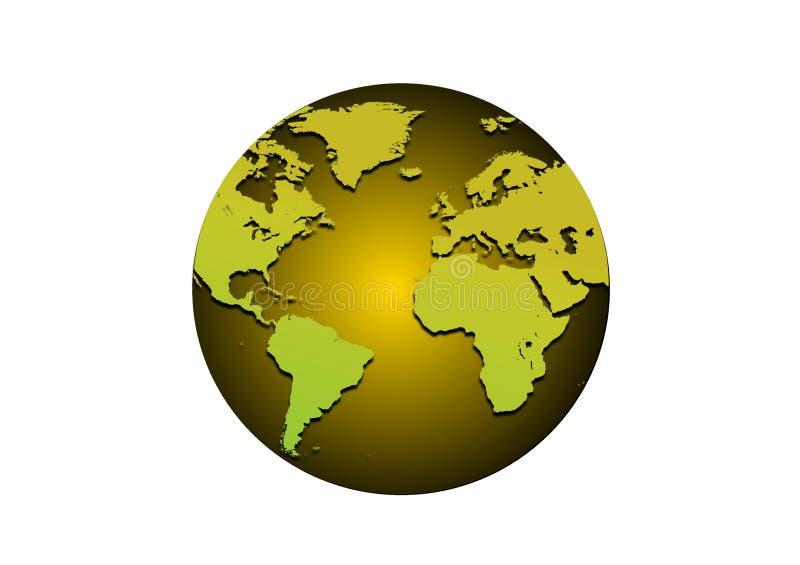 Golden Globe illustrazione vettoriale
