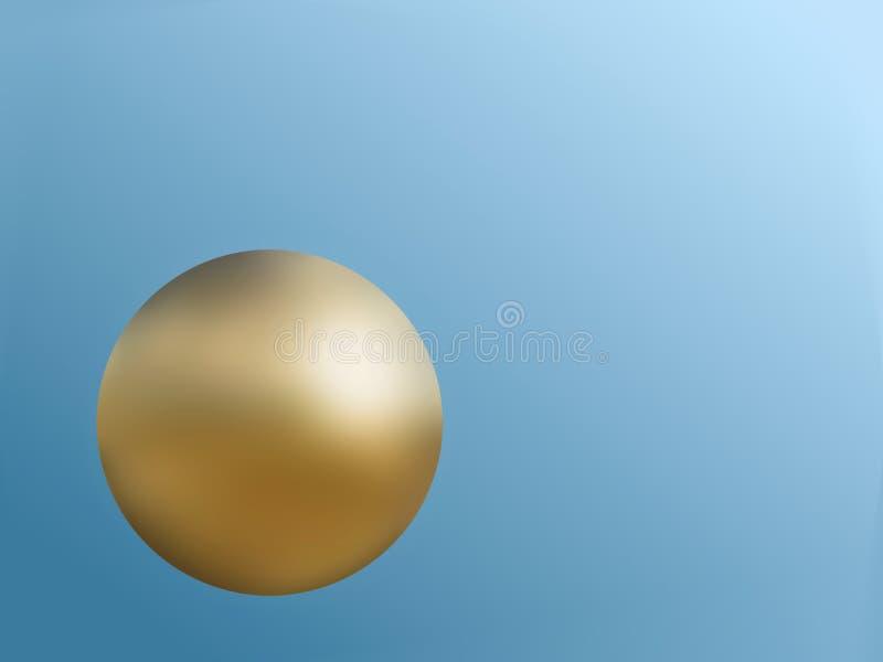 Golden Globe illustration de vecteur
