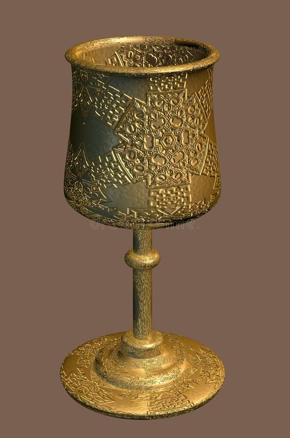 Golden Goblet Stock Photography