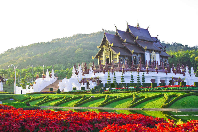 Download Golden Hall,the Landmark Of Chiang Mai,Thailand Stock Image - Image: 24887471
