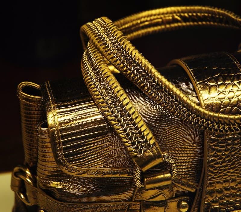 Download Golden handbag stock image. Image of exhibition, style - 4516151