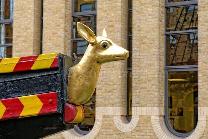 Golden Hind, London, Förenade kungariket royaltyfri foto