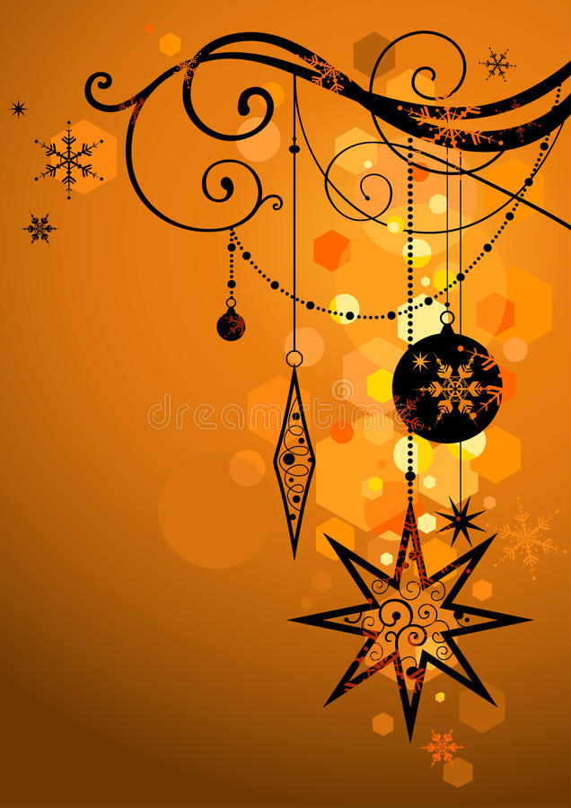 Golden holiday background royalty free stock photography