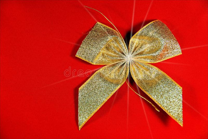 Download Golden Holiday ribbon stock image. Image of icon, colored - 17452523