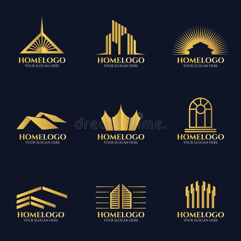 Modern Home Logo Stock Illustrations 83,348 Modern Home