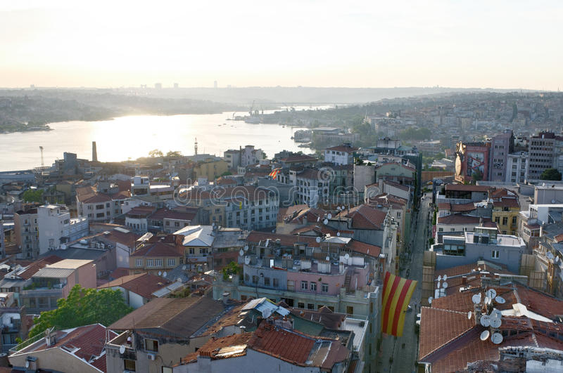 Download Golden Horn in Istanbul stock photo. Image of golden - 29350076