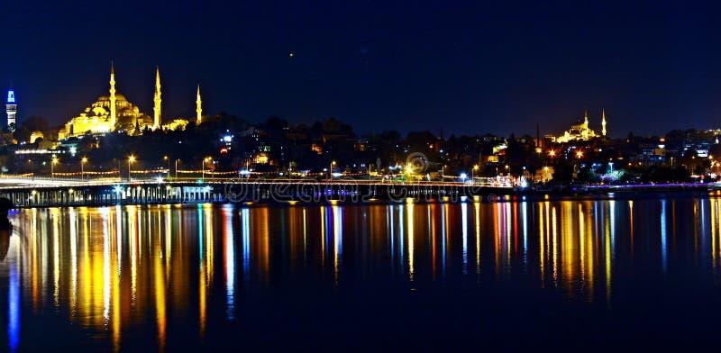 Download Golden Horn, Istanbul Suleymaniye & Unkapani Stock Image - Image of : 101206637
