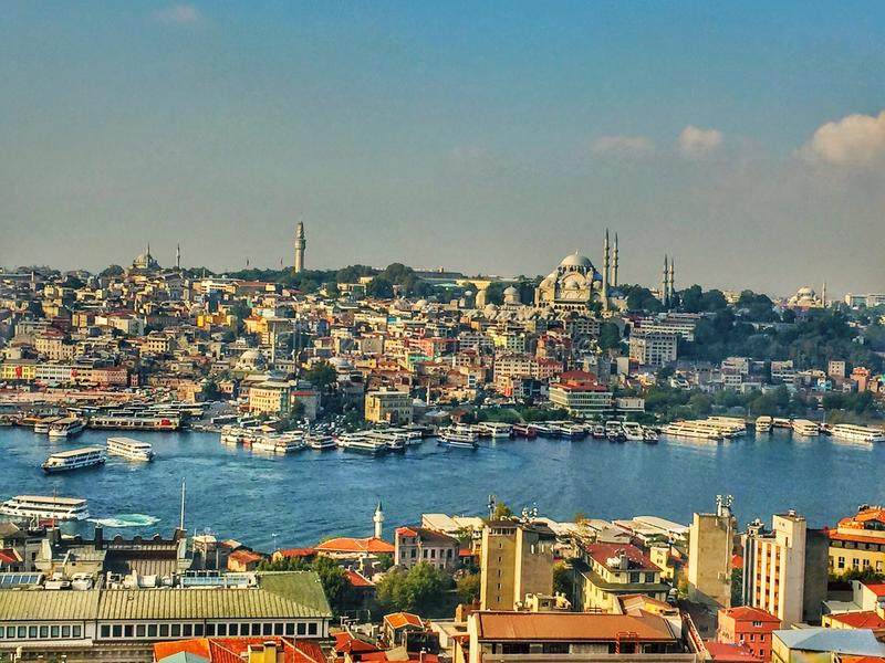 Ä°stanbul royalty free stock images