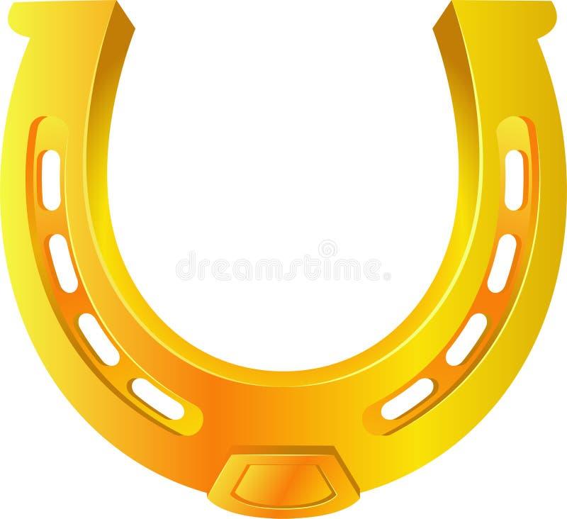 Golden Horseshoe vector illustration