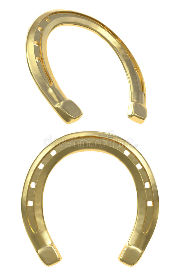 Golden Horseshoe stock illustration
