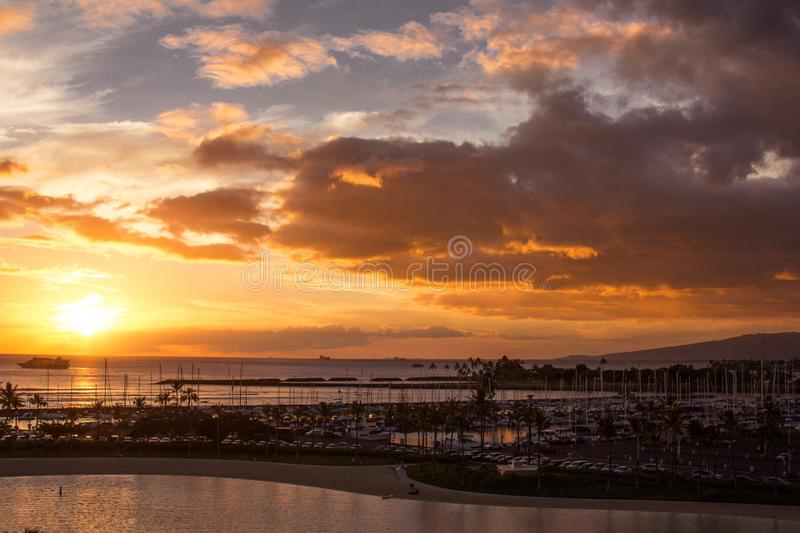 Golden Hour royalty free stock images