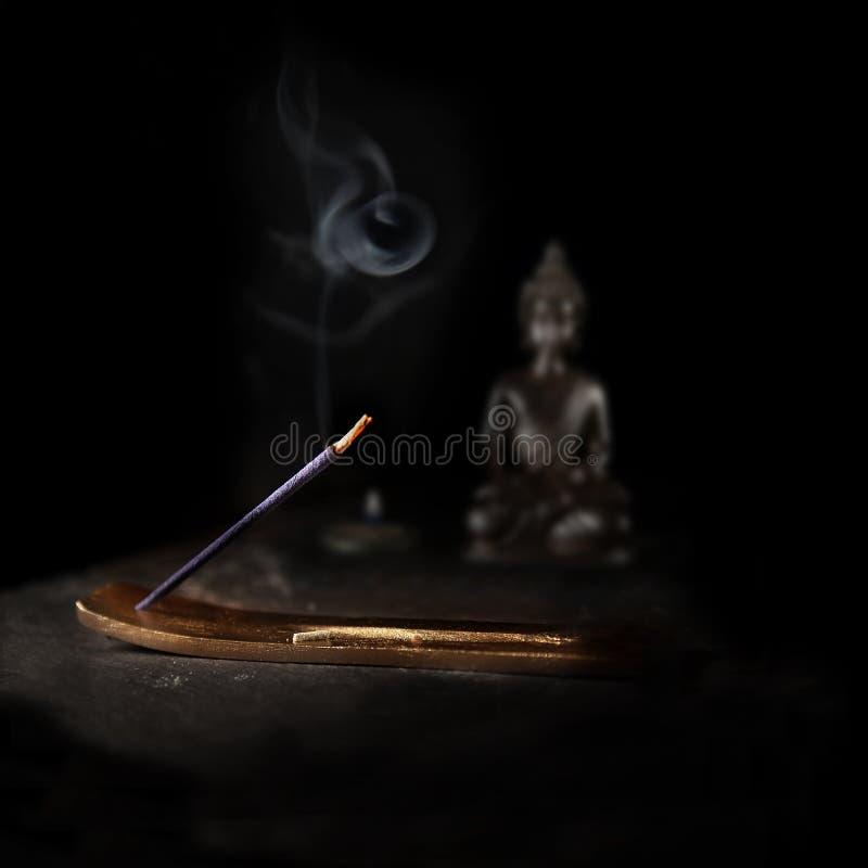 Golden Incense Burner foto de stock royalty free