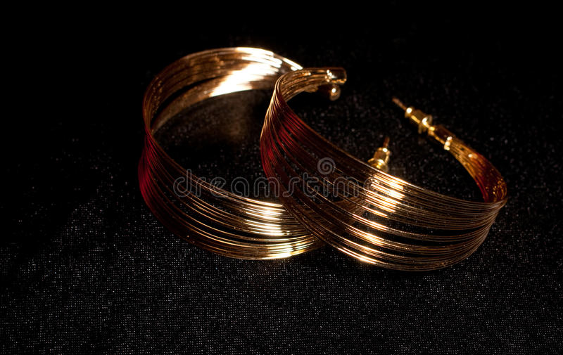 Download Golden jewelry stock photo. Image of fashion, love, jewel - 23745126