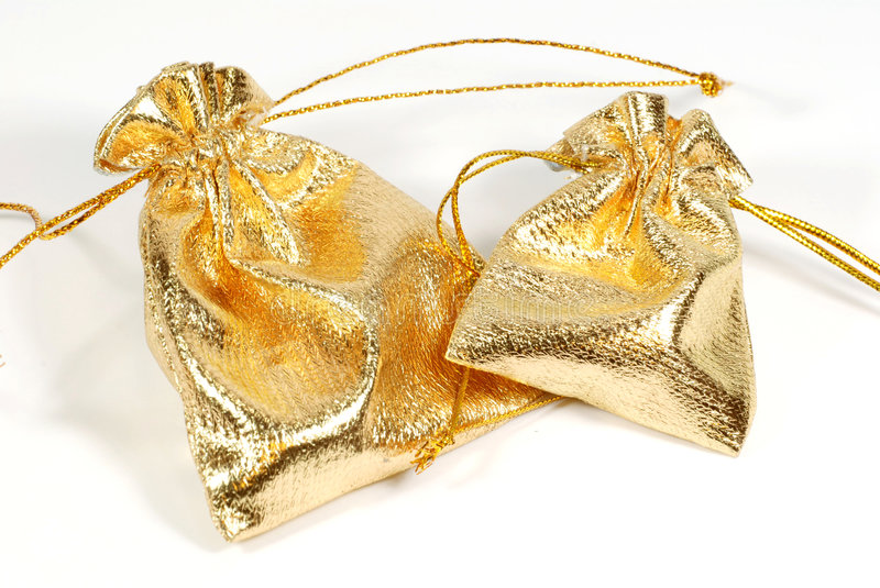 Download Golden Jewelry Bags Royalty Free Stock Photos - Image: 5985218