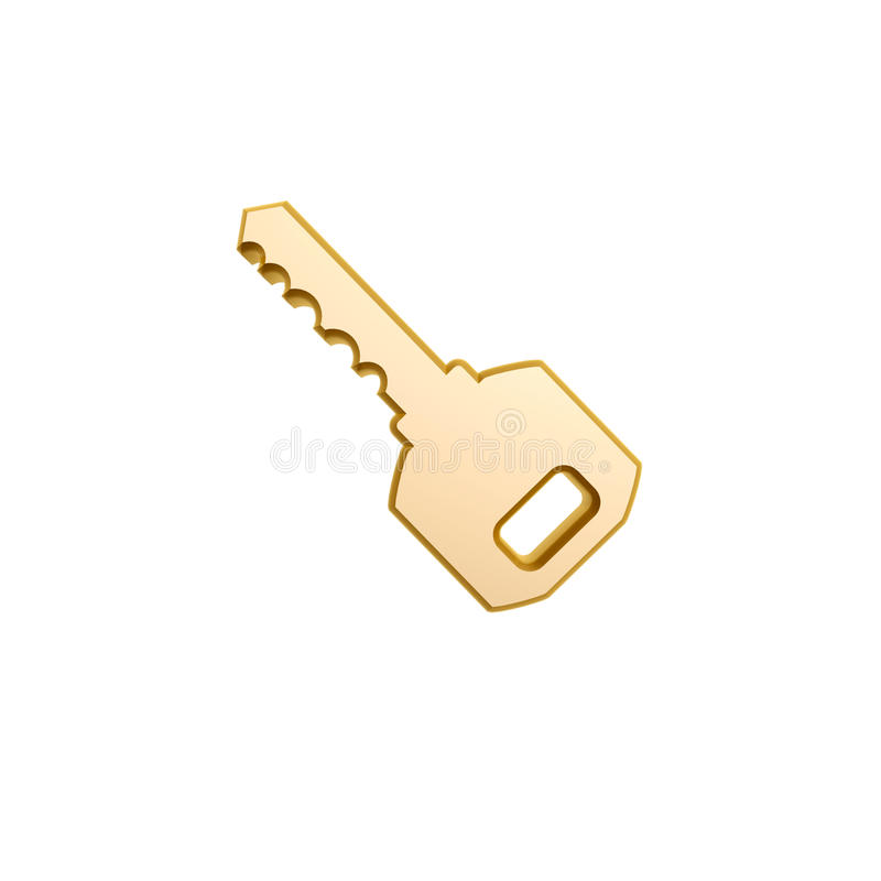 Download Golden key of car stock illustration. Illustration of luxury - 30072396