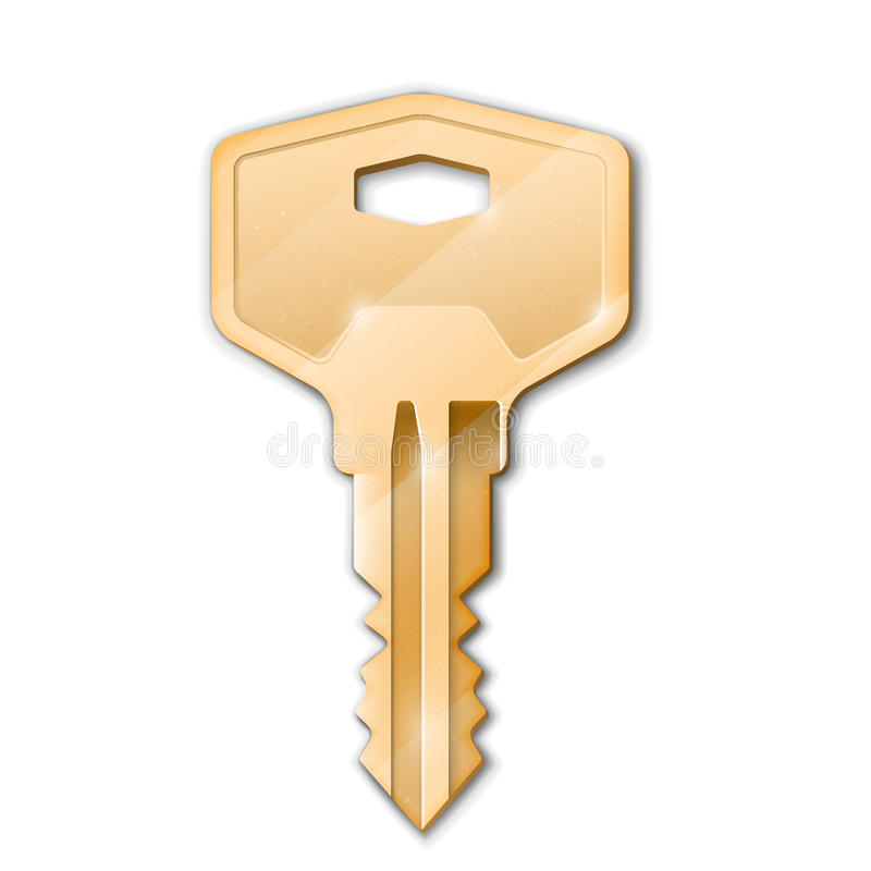 Download Golden key stock photo. Image of home, safe, brass, secrecy - 32286008