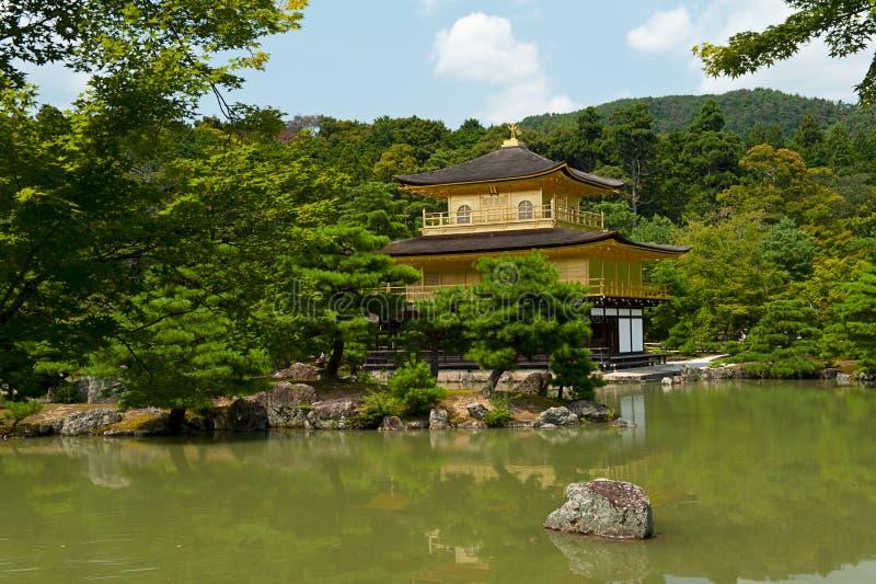 Download Golden Kinkaku-ji stock photo. Image of asia, maple, pagoda - 26464034