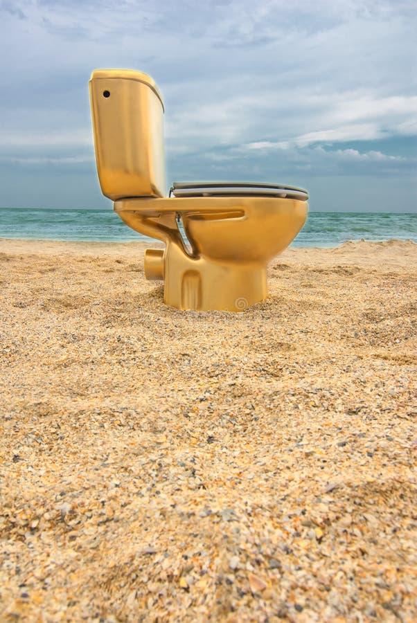 Free Golden Lavatory Royalty Free Stock Photo - 23783395