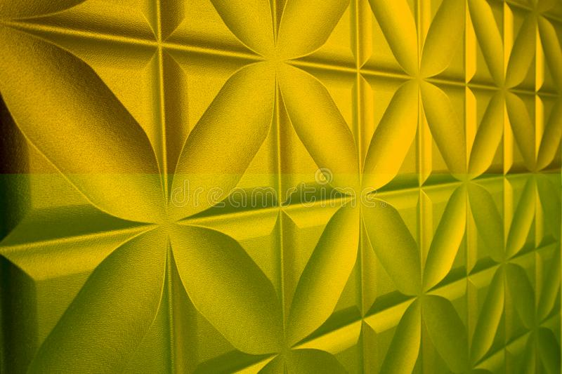 Golden leather can be used as a background. stock photo