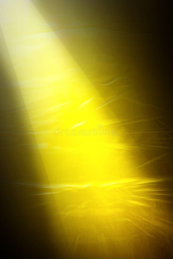 Golden light. Background abstract design of golden light shaft royalty free stock photos